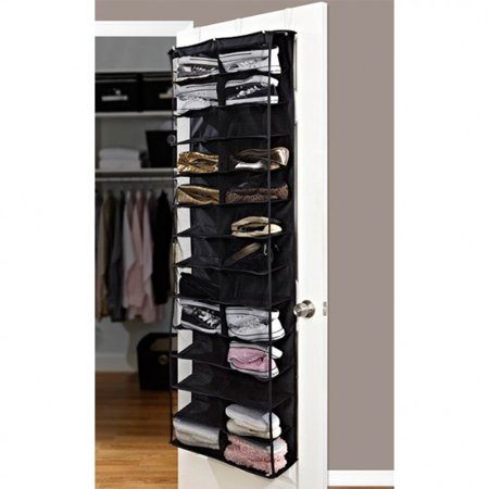 Home collections 26 pocket over the door shoe organizer Over the door shoe organizer