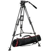 Manfrotto 526 Pro Fluid Video Head+545B Pro Alu Video Tripod+MBAG100PN