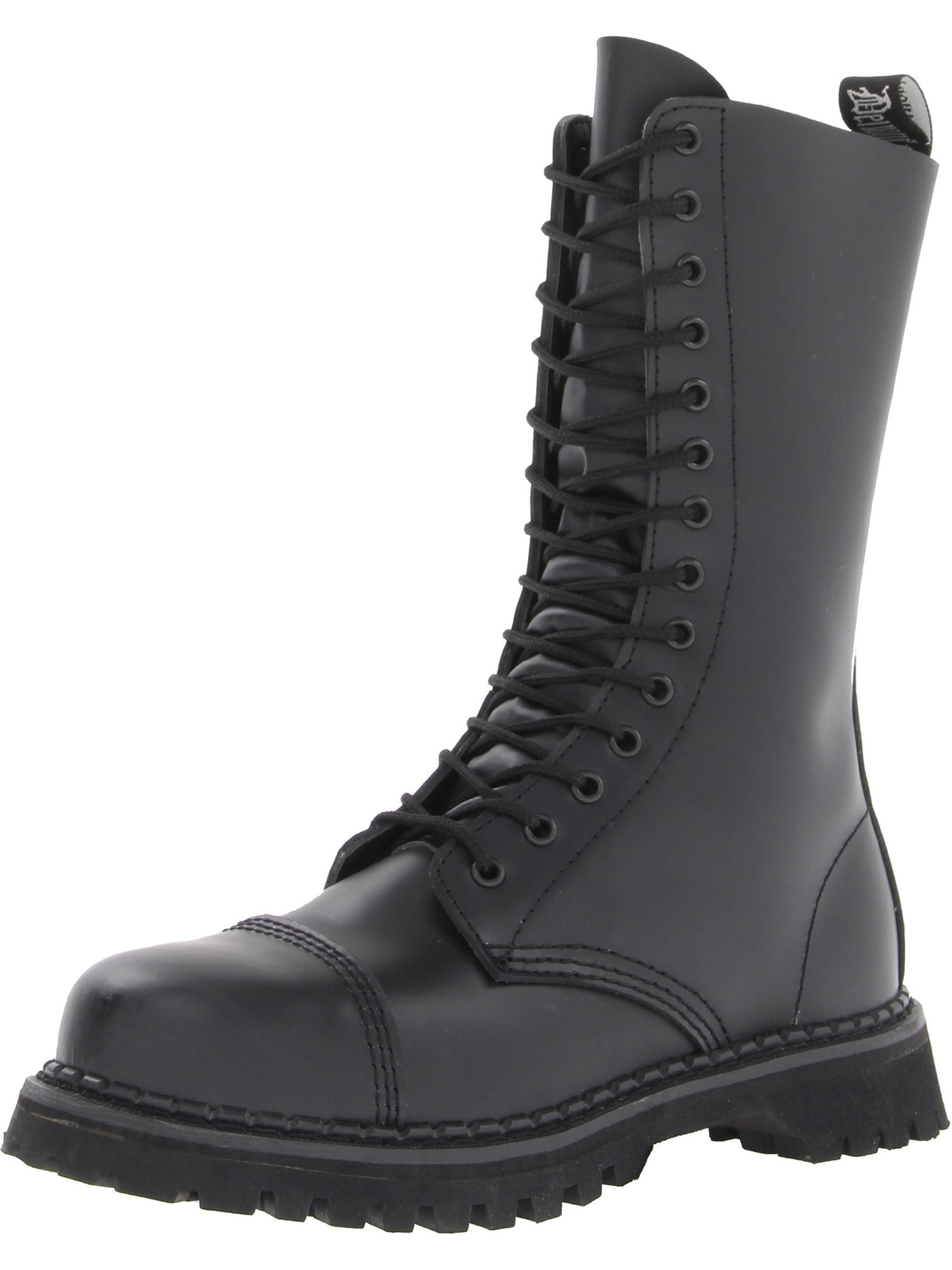 Demonia - Mens Gothic Mid Calf Boots