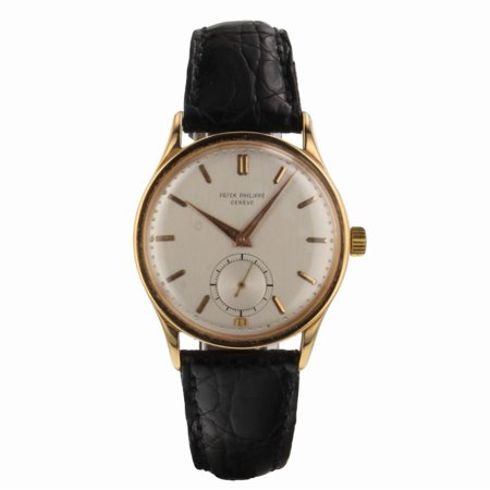 Pre-Owned Patek Philippe Calatrava UNKNOWN Gold Watch (Certified Authentic & Warranty)