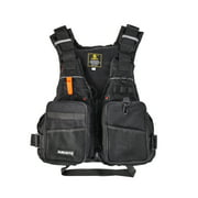 Professional Flotation Adult Safety Survival Vest Swimming Kayaking Boating Drifting with Emergency Whistle