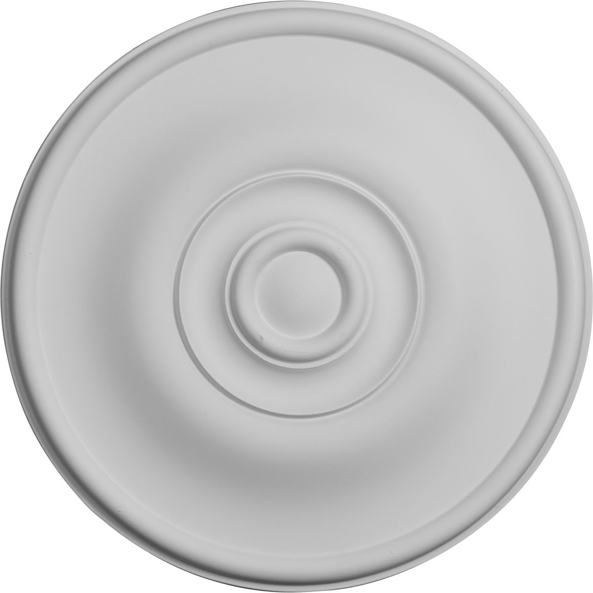 """11 3/4""""OD x 3/8""""P Jefferson Ceiling Medallion (Fits Canopies up to 2 7/8"""")"""