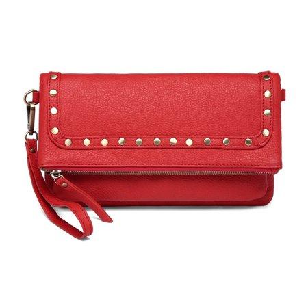 0fde754c67 Vicenzo Leather - Vicenzo Leather Francesca Leather Crossbody Handbag -  Walmart.com