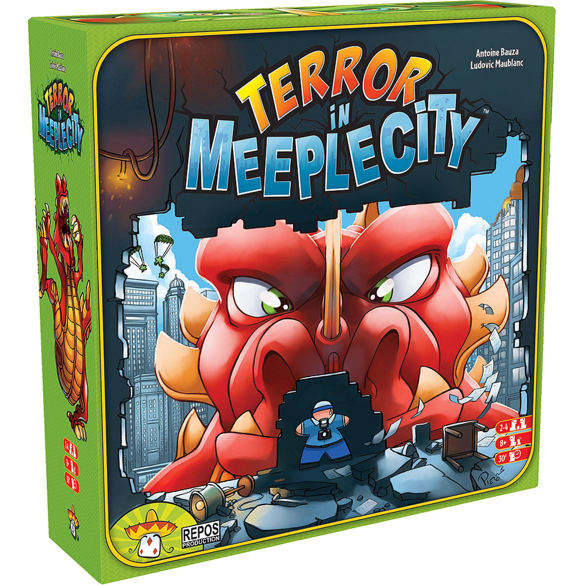 Asmodee Terror In Meeple City Board Game, Cover Art May Vary by Asmodee