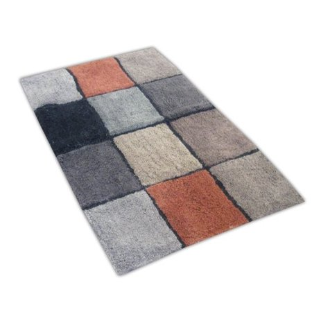Veratex Tiles Rug Multi Brown Black Gray And Red