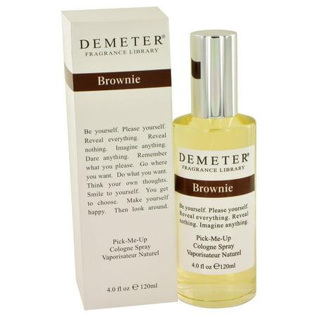 Women Brownie (Demeter Brownie Cologne Spray for Women 4 oz )