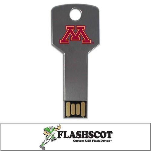 Minnesota Golden Gophers Flash Key USB Drive - 8GB