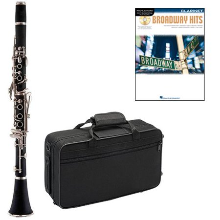 Broadway Hits Clarinet Pack - Includes Clarinet w/Case & Accessories & Broadway Hits Play Along Book