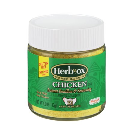 Herb Ox Bouillon  Granulated Chicken  4 Oz