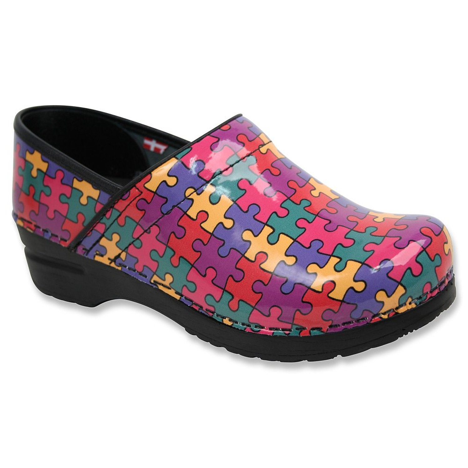 Sanita Women's ASPIRE Multi Clogs 35 M EU 5 M