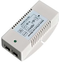 Tycon Systems TP-POE-HP-48GD 56V Gigabit High Power POE Power Inserter - US Power Cord, 35W