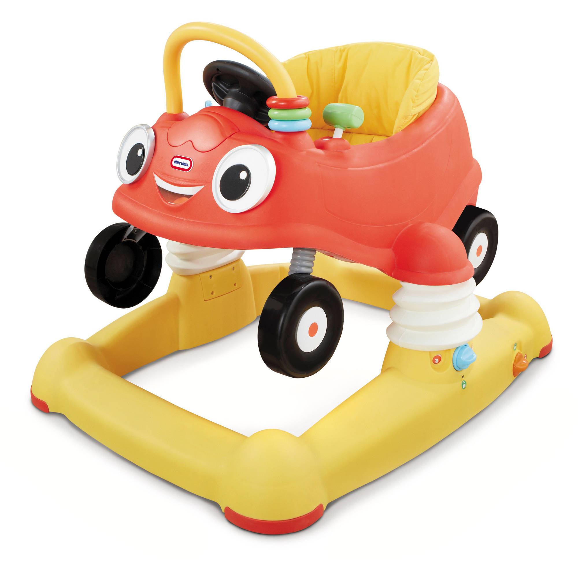 Little Tikes Cozy Coupe 3-in-1 Baby Walker, Bouncer & Mobile Entertainer