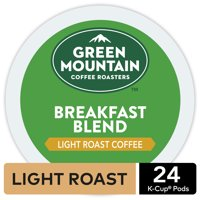 Green Mountain Coffee Breakfast Blend, Keurig K-Cup Pod, Light Roast, 24ct