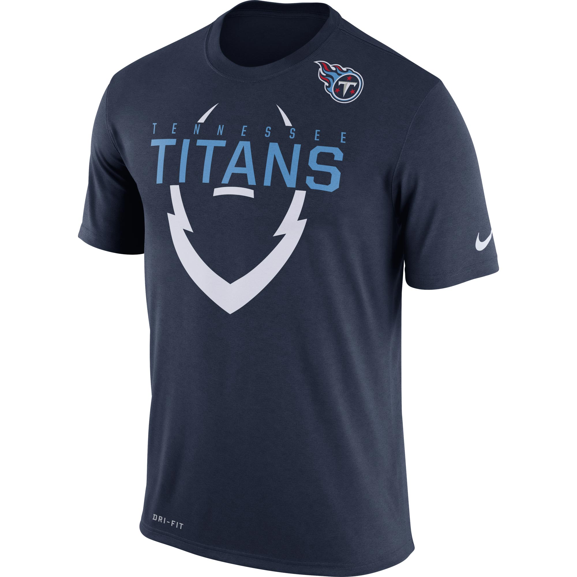 Tennessee Titans Nike Legend Icon Dri-FIT T-Shirt - Navy - S