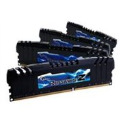 G.Skill Ripjaws Z Series - DDR3 - 16 GB : 4 x 4 GB - DIMM 240-pin - 1600 MHz / PC3-12800 - CL8 - 1.5 V - unbuffered - non-ECC