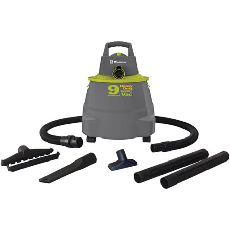 Koblenz - WD-9K - Koblenz(R) WD-9K Wet/Dry Vacuum Cleaner with 9-Gallon Tank