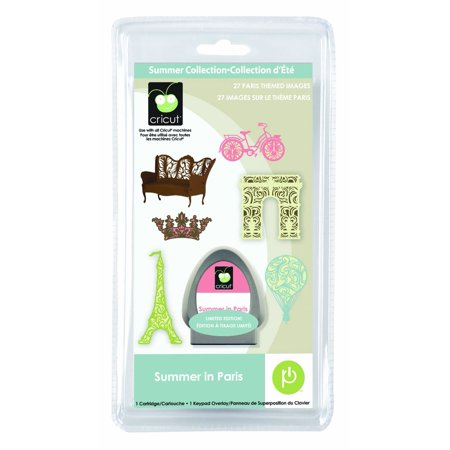 Kit Provo Craft (Cricut Seasonal Cartridge, Summer in Paris, Shape cartridge for use with all Cricut machines By Provo Craft Novelty Cricut from)