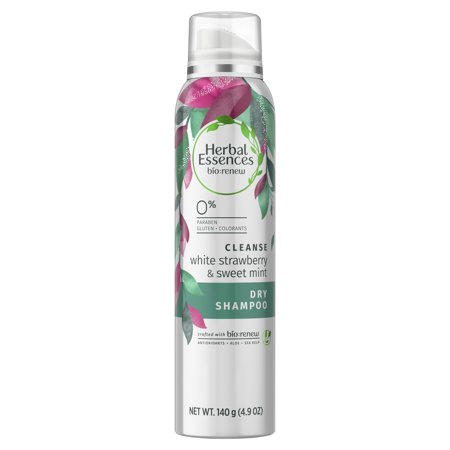 Herbal Essences Bio:Renew White Strawberry & Sweet Mint Dry Shampoo, 4.9 oz