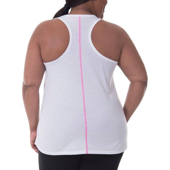3c93203a354 Danskin Now - Women s Plus Size Active Graphic Tank - Walmart.com