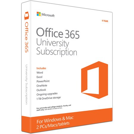 Microsoft Office 365 University 4-year subscription