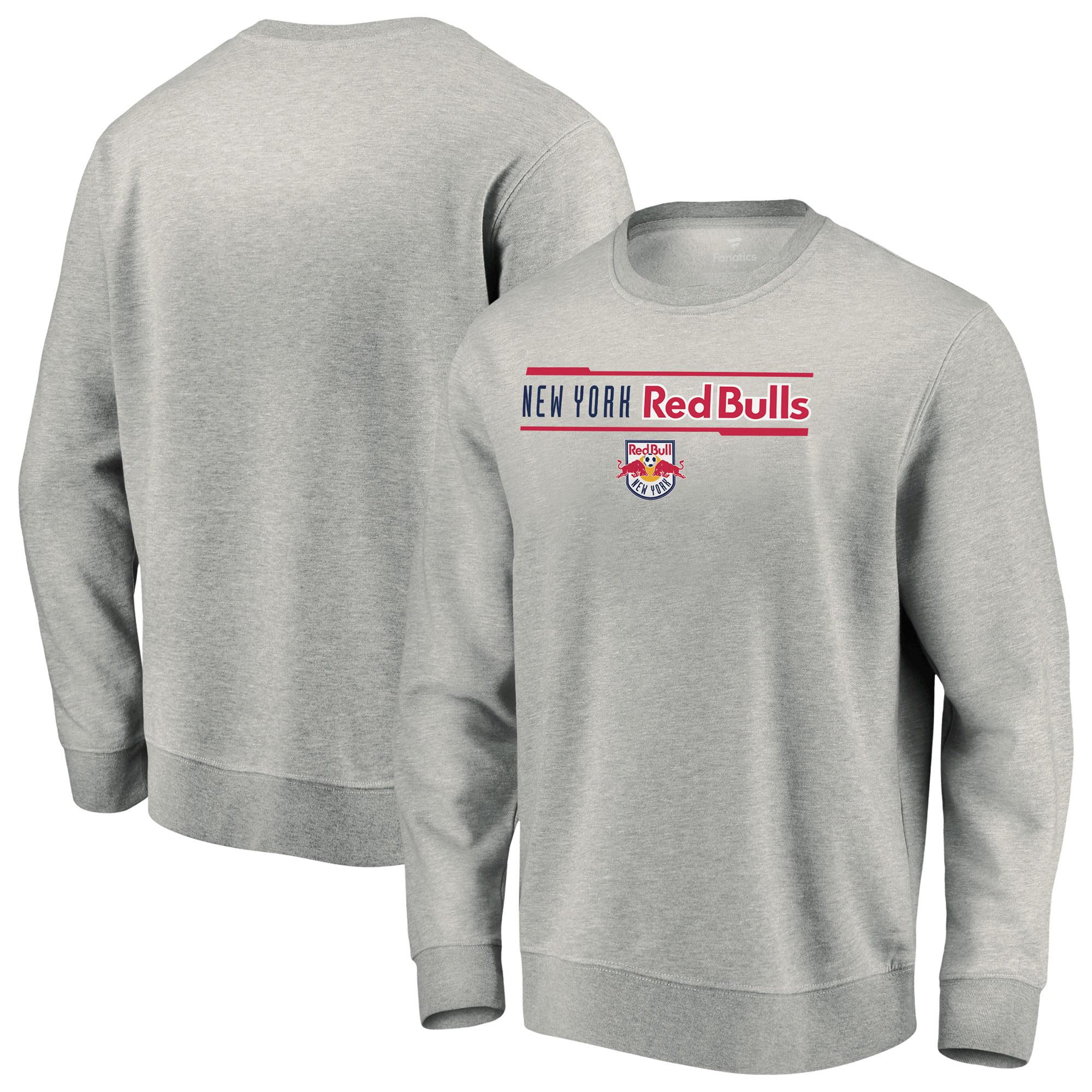 New York Red Bulls Fanatics Branded Iconic Sweatshirt - Heathered Gray