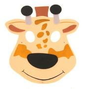 Giraffe Foam Mask, One Size