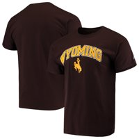 Men's Russell Athletic Brown Wyoming Cowboys Core Print T-Shirt