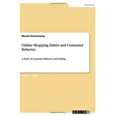 Online Shopping Habits And Consumer Behavior
