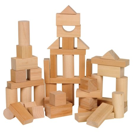 Small World Toys Ryan's Room Wooden Toys - Bag O' Blocks, Natural Wood, Get ready for a bundle of building fun with Ryan's Room Wooden Toys Bag 'O Blocks from Small.., By Ryans Room