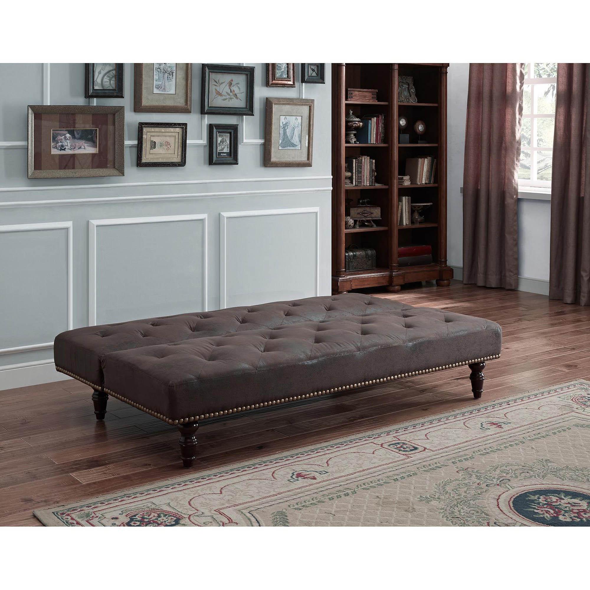 dhp charleston vintage futon brown upholstery ameriwood futons  u0026 loungers  rh   walmart