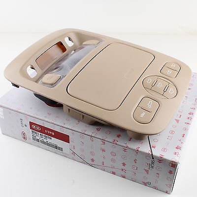 Genuine Kia Overhead Console Lamp for 06-14 Sedona Beige 92821-4D100TW
