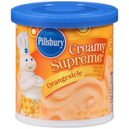 Pillsbury Creamy Supreme Orangesicle Frosting, 16 oz