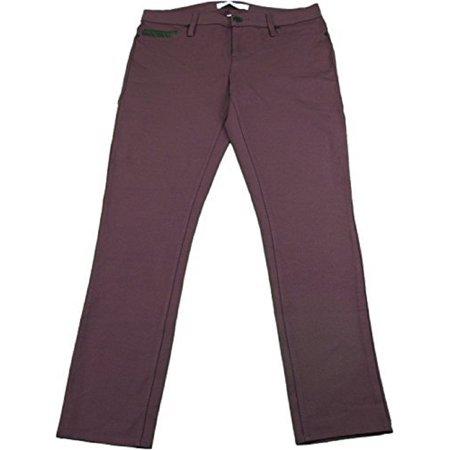 Calvin Klein & Co Ladies Size 6 Legging Pants w/Back Pockets, Elderberry