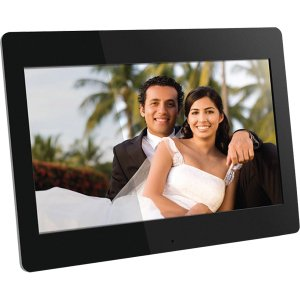 "Aluratek 14"" Digital Photo Frame 2 GB Built-In Memory and Remote (1600 x 900 Resolution, 16:9 Aspect Ratio)"