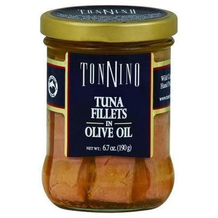 (2 Pack) Tonnino Tuna Fillets in Olive Oil, 6.7 oz Jar