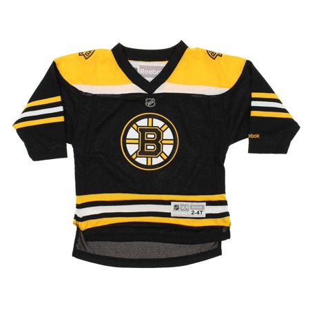 4ab5b117 Reebok NHL Toddler/Kids Boston Bruins Team Color Replica Jersey