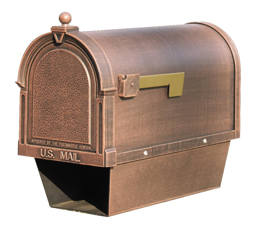SCB-2015-CP Berkshire Curbside Mailbox with Paper Tube