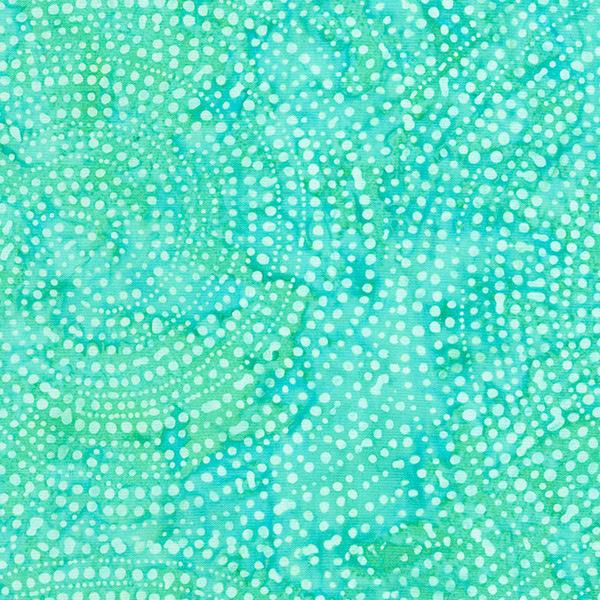 Timeless Treasures Tonga Batiks Aruba Dotty Spiral Color Wheel