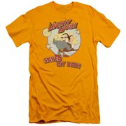Mighty Mouse Vintage Day Mens Slim Fit Shirt