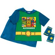 Personalized Yo Gabba Gabba Save the Day Toddler Boys' Super Tee and Cuff Set, Green