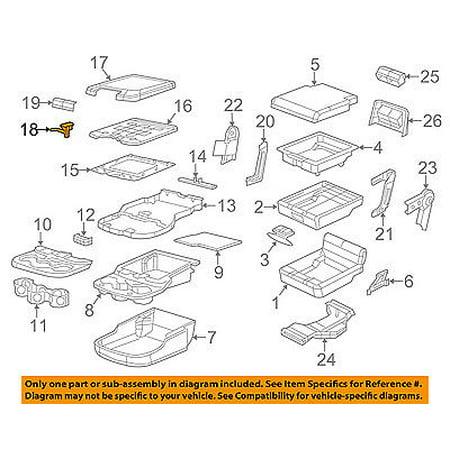 Ram CHRYSLER OEM 13-15 3500 Front Seat-Armrest Door Latch (3500 Putco Door)