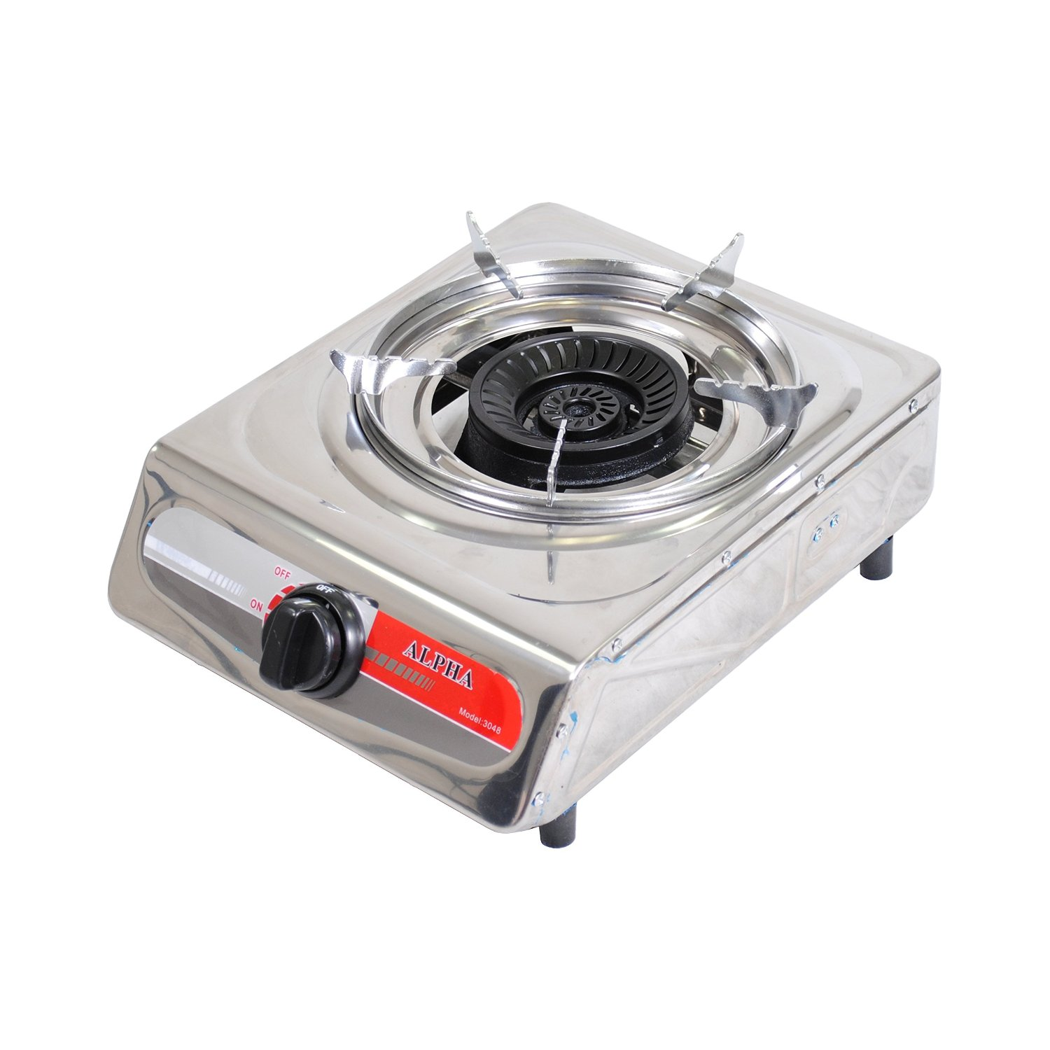 Alpha Portable Propane One Burner Gas Stove