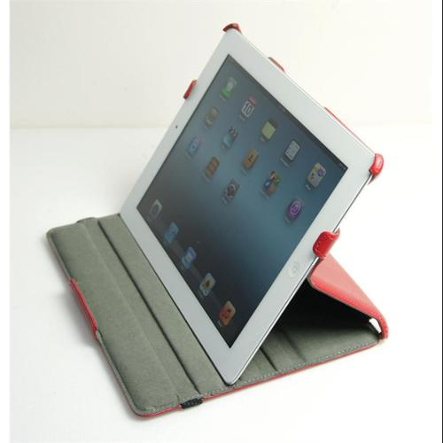 Inland Folio Style Tablet Cover for The New iPad and iPad 2 - Black (02607)