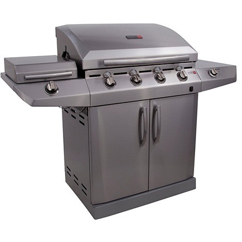 Char-Broil Performance TRU-Infrared T-47D 4-Burner Gas Grill with Side Burner