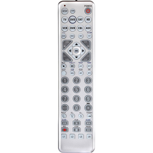 Zenith 8-Device Universal Learning Remote Control