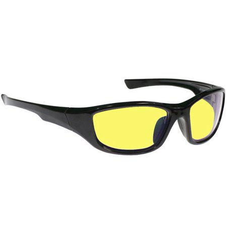Night Driving Glasses - Viper with Canary Yellow Anti-reflective Double Sided (Viper Sunglasses)