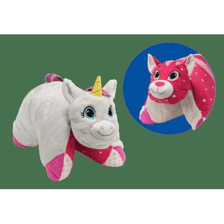 Flip N Play Friends Glitter Unicorn To Sparkle Kitty