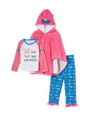 28c68243e Pink Baby Girls One-piece Pajamas - Walmart.com