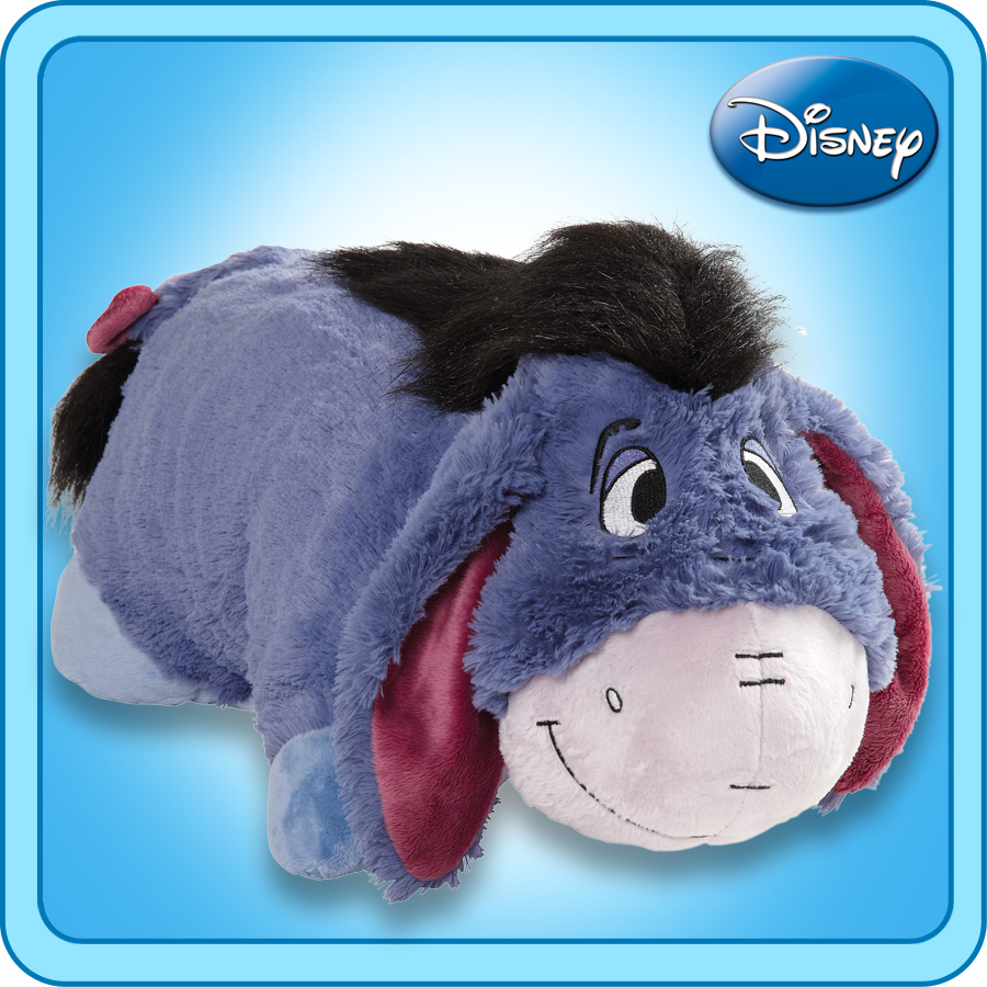 "Authentic Pillow Pets Eeyore Disney Huge XXL 30"" Jumboz P..."