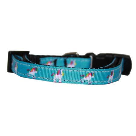 Unicorn Dog (Blue Unicorn Nylon Dog Collar)